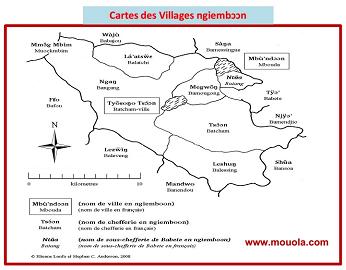 Les villages ngiembↄↄn